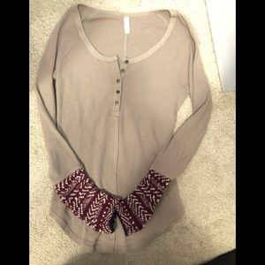 Size small free people thermal